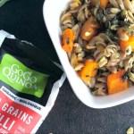 Butternut squash and sage gluten-free pasta recipe