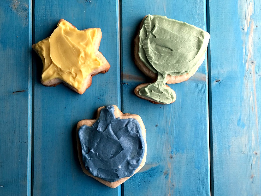 Chanukah Gluten-Free Sugar Cookies