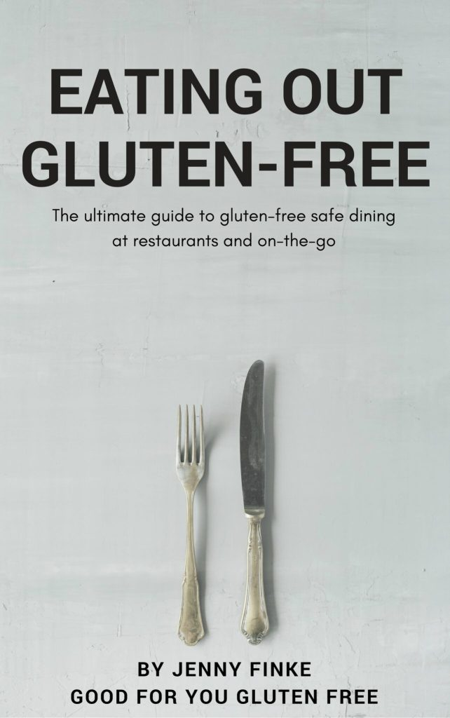 Eating Out Gluten Free Cover