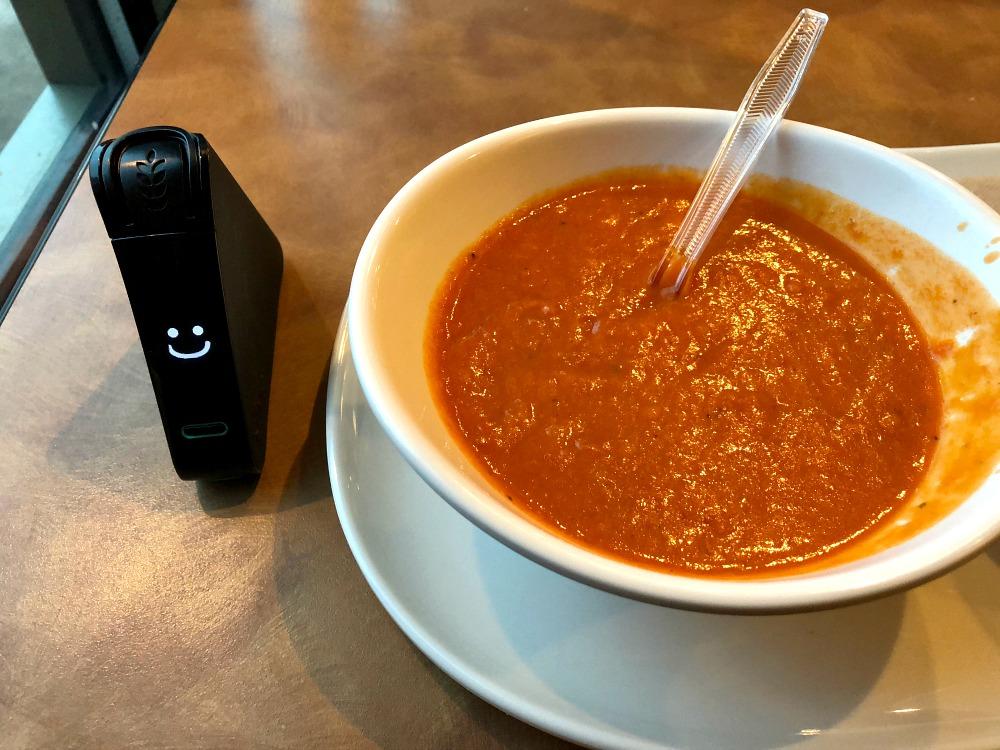 Panera gluten-free vegetarian creamy tomato soup