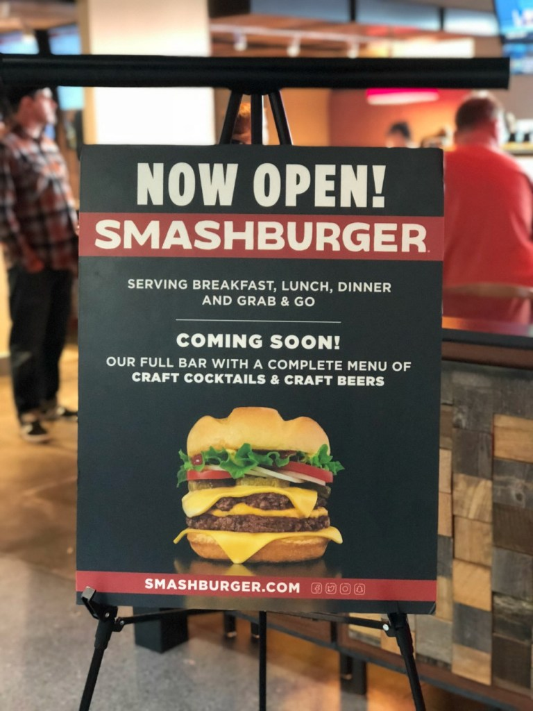 Gluten-Free at Denver International Airport - Smashburger