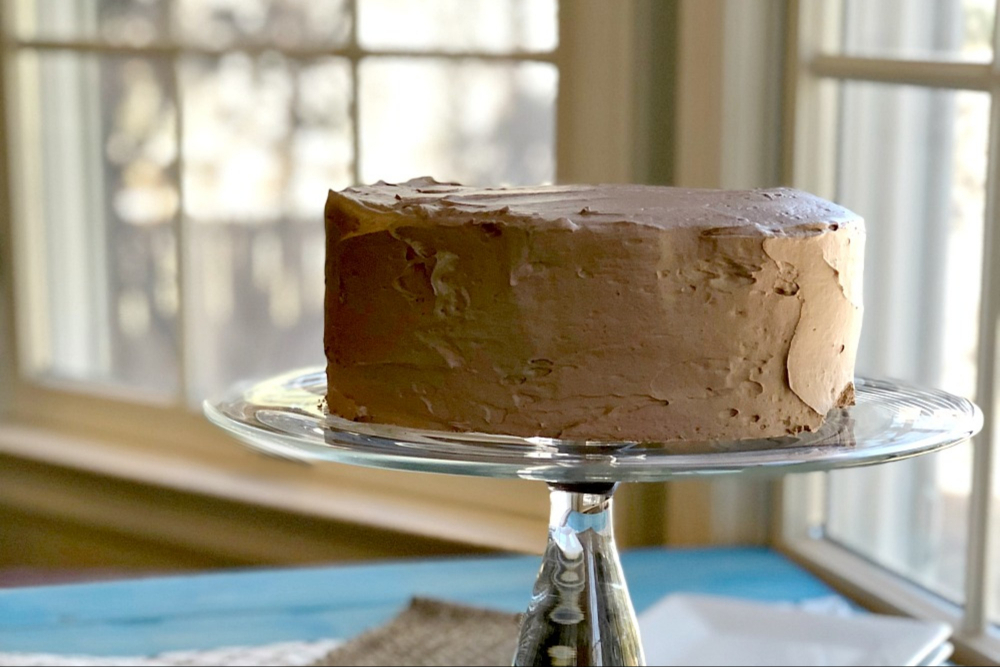 Gluten-Free Devil's Food Cake Recipe header