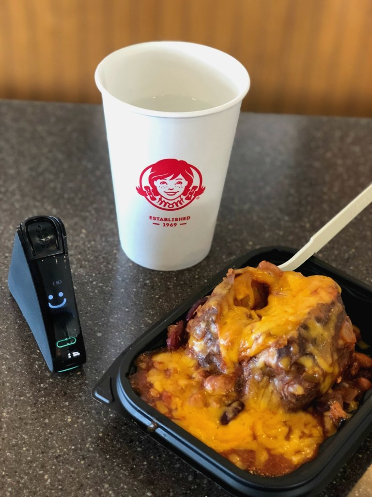 Nima Sensor Test at Wendy's Chili Cheese Potato