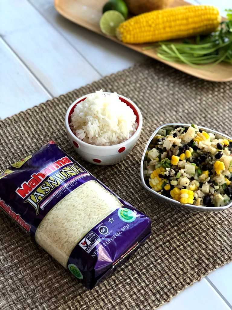 Cilantro Lime Rice and Black Bean Salsa 1