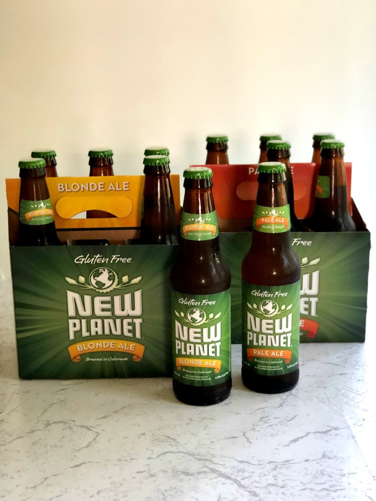 New Planet gluten-free beer