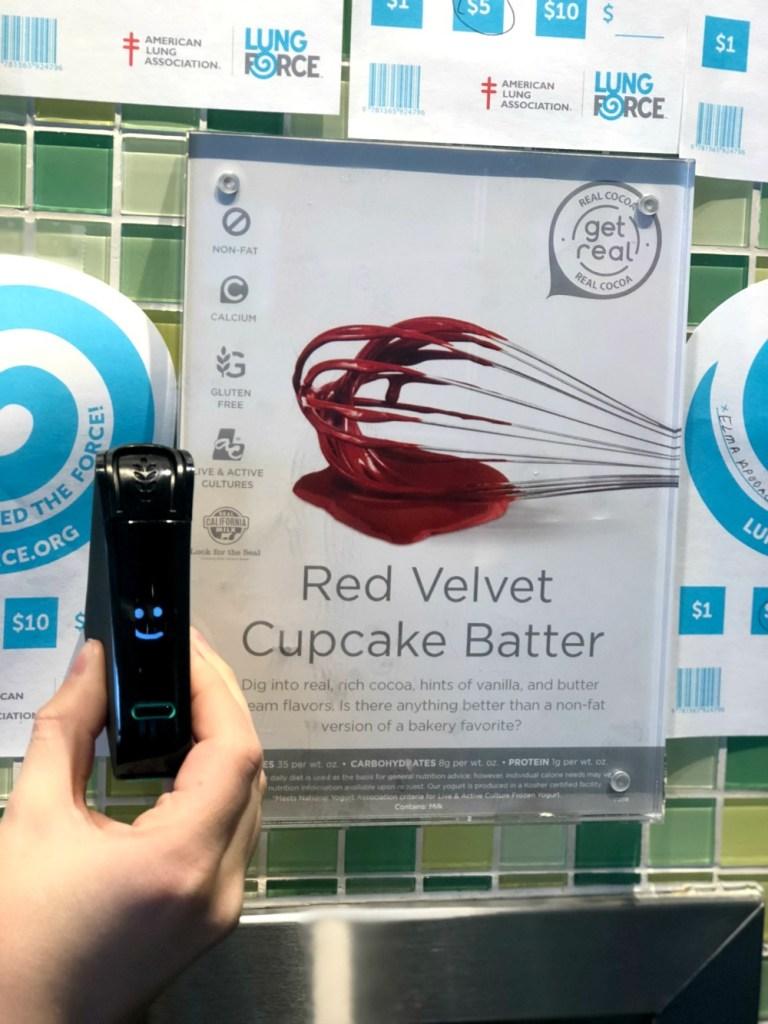 Nima Sensor Test Red Velvet Cupcake Batter Yogurtland