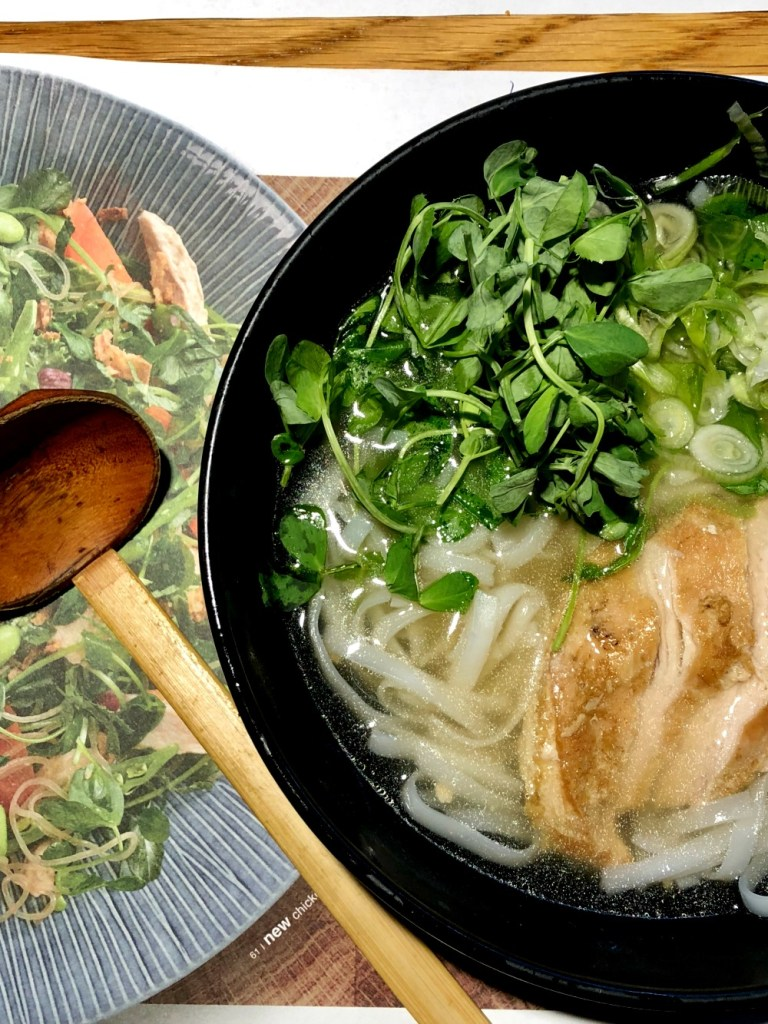 Gluten-free Ramen soup at Wagamama