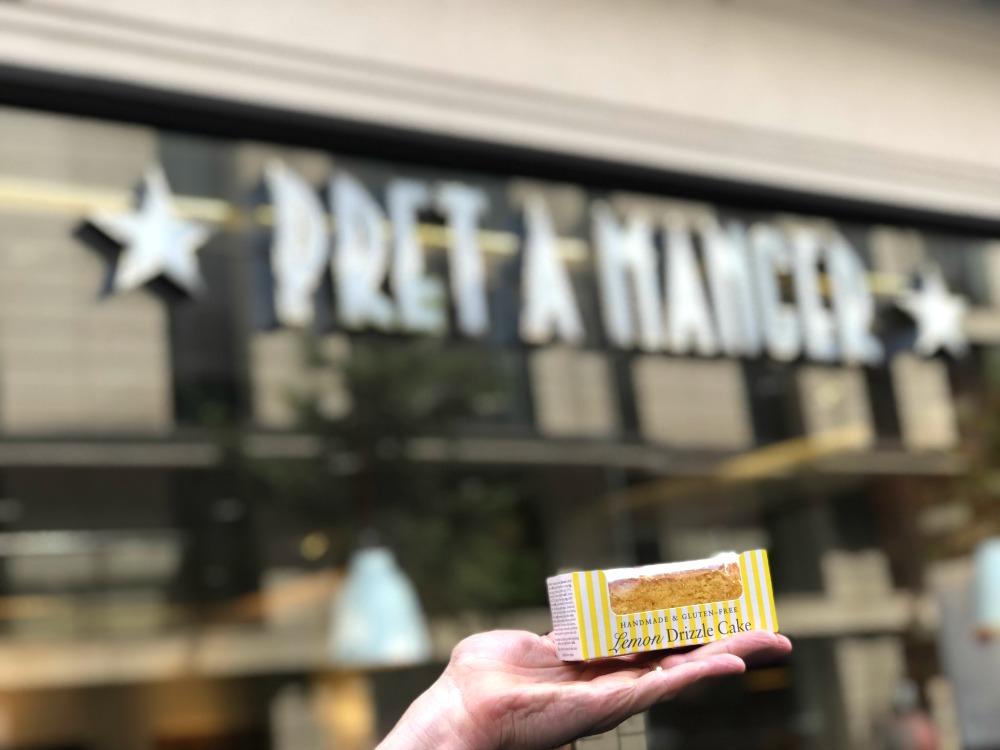Gluten-free at pret a manger - Lemon Drizzle Cake