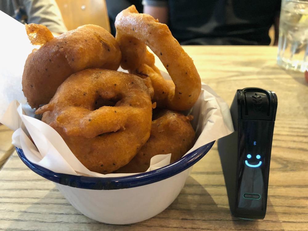 honest burger gluten-free restaurant in london onion rings