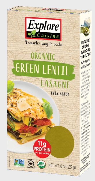 Explore Cuisine Gluten-Free Lentil Lasagna Noodles