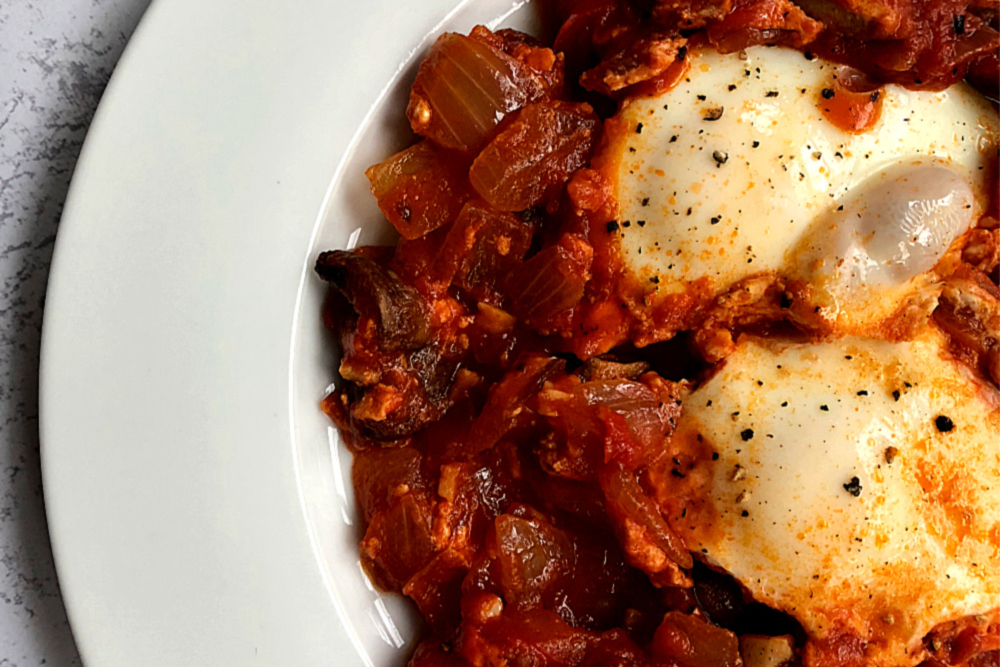 Gluten-Free Shakshuka Recipe (Whole30 compliant)