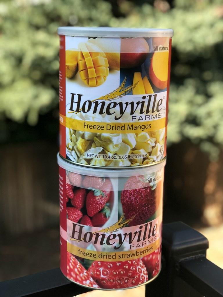 Whole 30 Snack Ideas - Freeze Dried Fruit