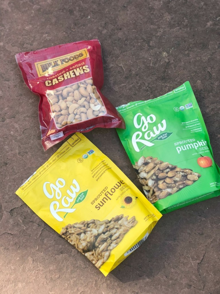 Whole 30 Snack Ideas - nuts and seeds