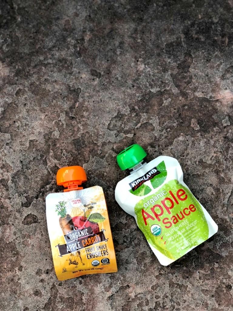 Whole 30 Snacks - Fruit squeezes