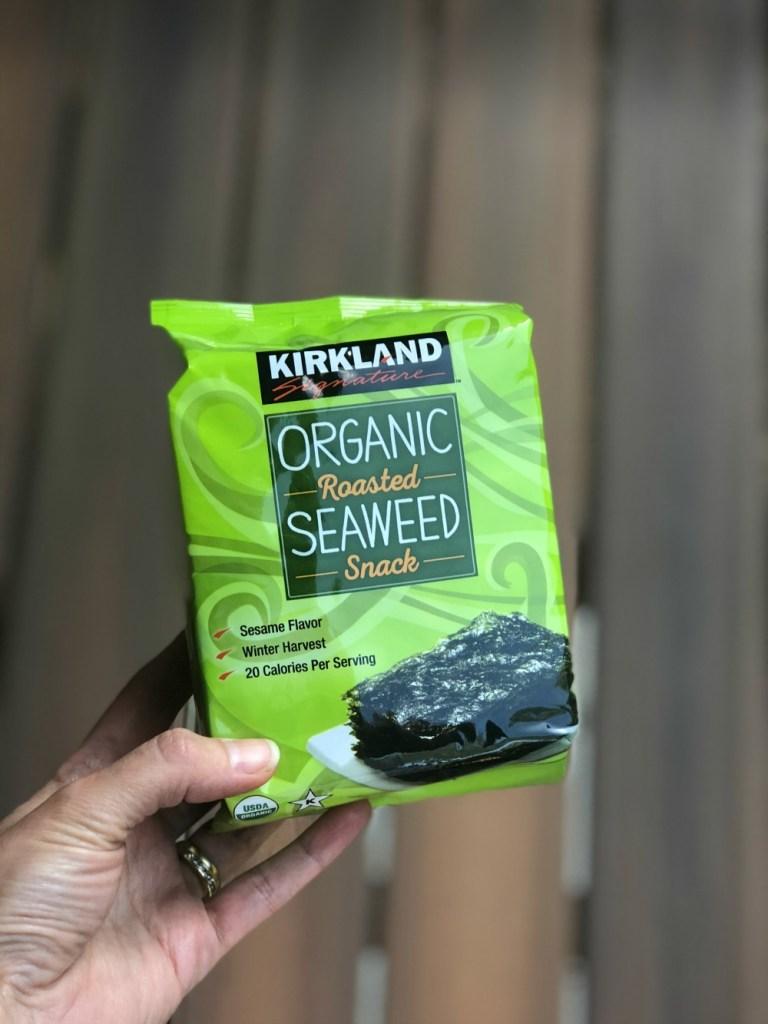 Whole 30 Snacks - Roasted Seaweed