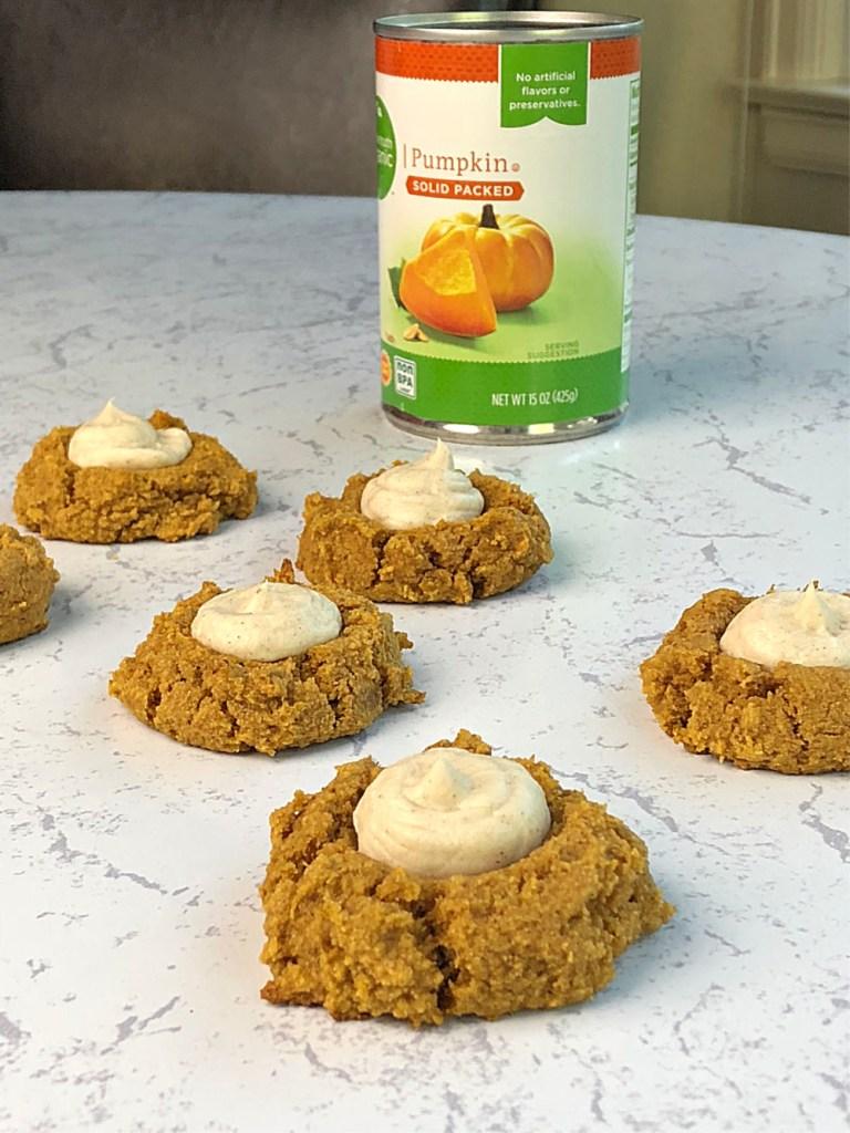 Gluten-Free Pumpkin Thumbprint Cookies 3