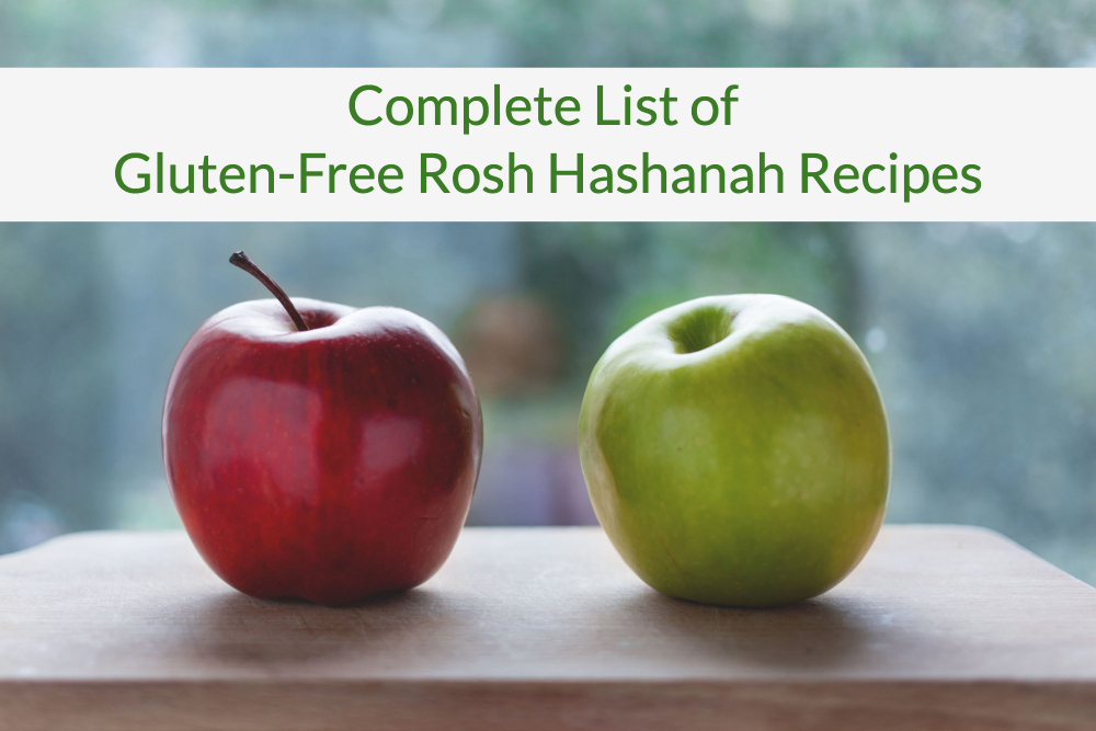 Gluten-Free Rosh Hashanah Recipes header