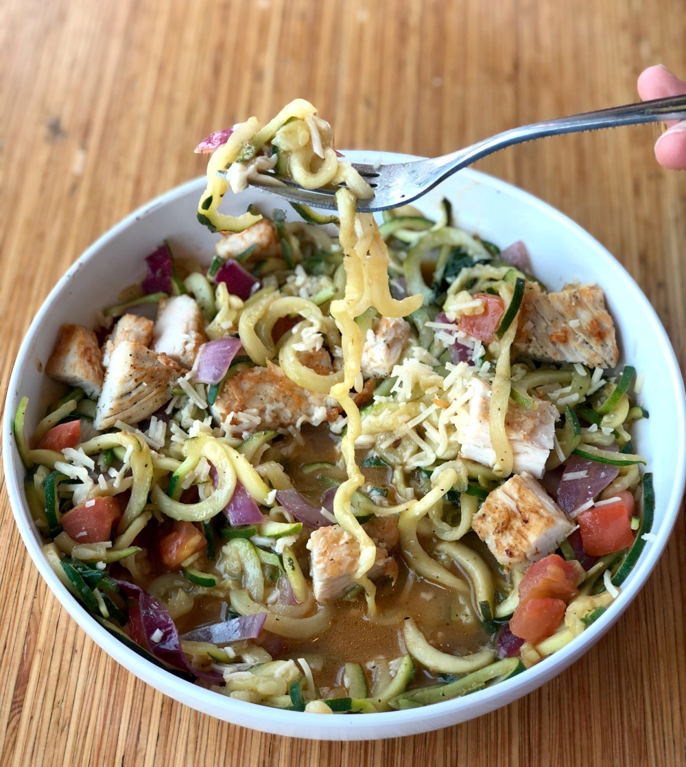 photo about Noodles and Company Printable Menu identified as Zoodles at Noodles Business - Positive For Oneself Gluten Totally free