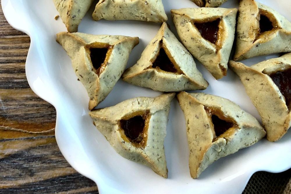 Gluten-Free and Vegan Hamantaschen Recipe - header