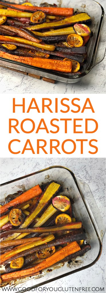 Harissa Roasted Carrots - Good For You Gluten Free #carrot #carrotrecipes #healthyrecipes