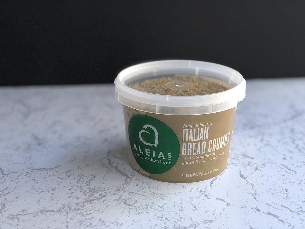 Aleias gluten free breadcrumbs