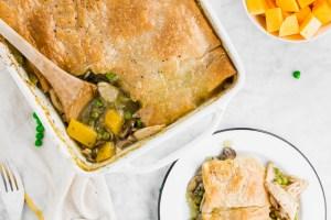 Gluten-Free Chicken Pot Pie Header