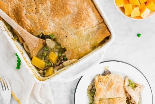 Gluten-Free Chicken Pot Pie Header
