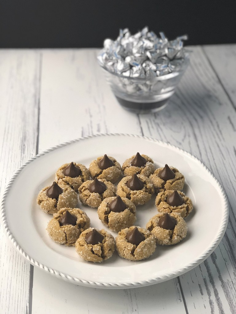 Gluten-free peanut butter blossoms recipe 1