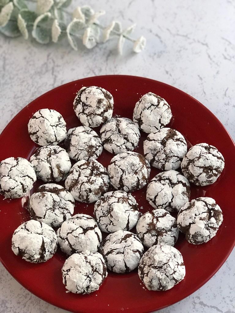 Gluten-Free Chocolate Crinkle Cookies 3