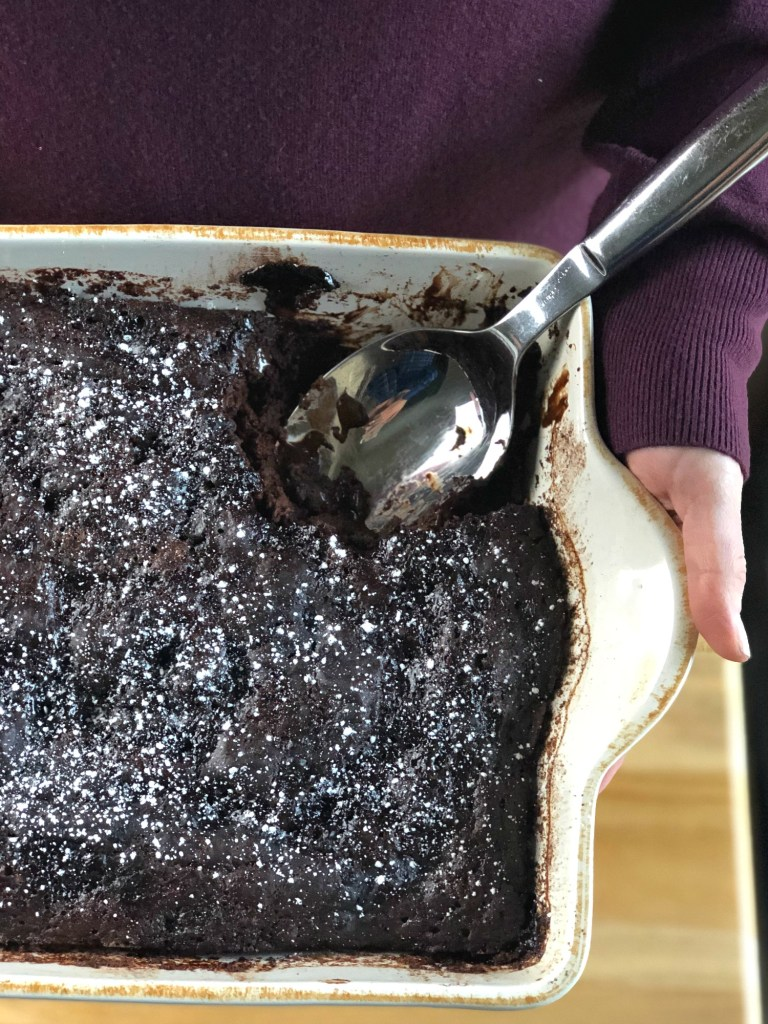 Gluten-Free Chocolate Pudding Cake 6