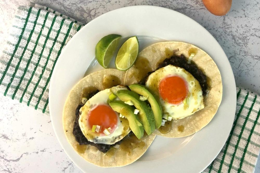 Gluten-Free Huevos Rancheros with Heritage Breed Eggs