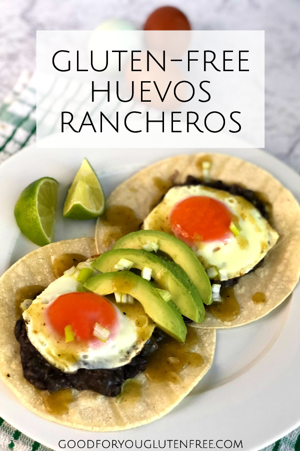 Gluten-Free Huevos Rancheros with Heritage Breed Eggs - Good For You Gluten Free #huevosrancheros #glutenfreerecipes #eggrecipes #happyegg #ad