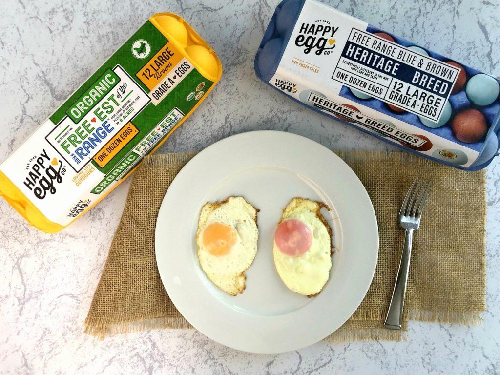 Happy Egg vs. Heritage Egg