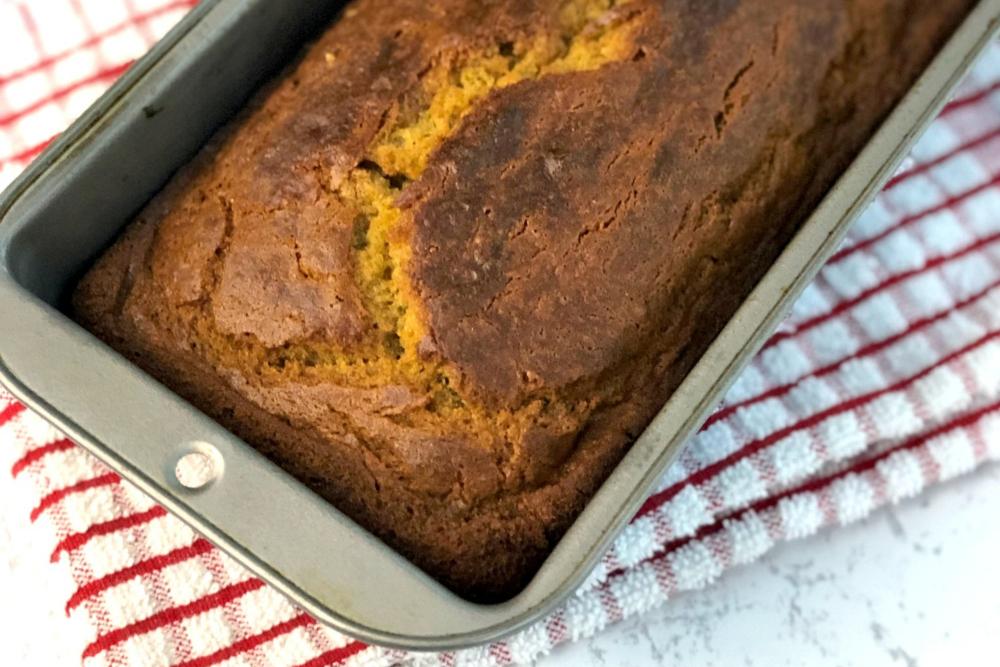 Moist Gluten-Free Banana Bread header