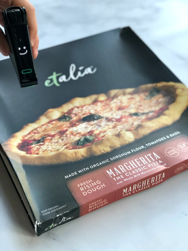 Etalia Frozen Pizza Nima Sensor Tested