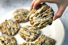 Gluten-Free Iced Oatmeal Cookies header