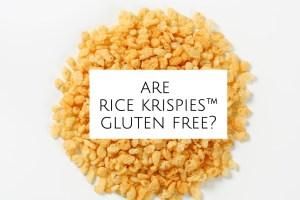 Are Rice Krispies Gluten Free header