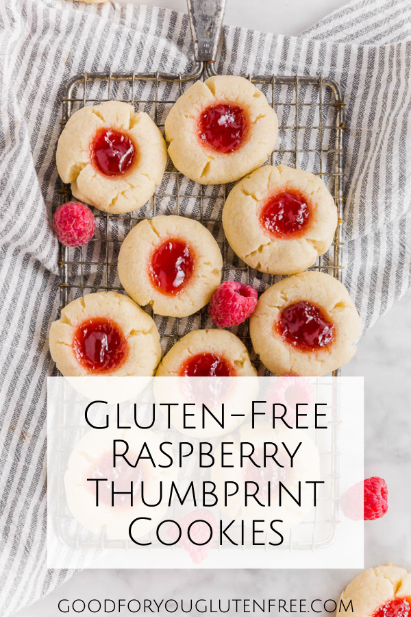 Gluten-Free Raspberry Thumbprint Cookies - Good For You Gluten Free