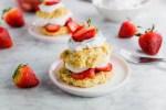 Gluten-Free Strawberry Shortcake header