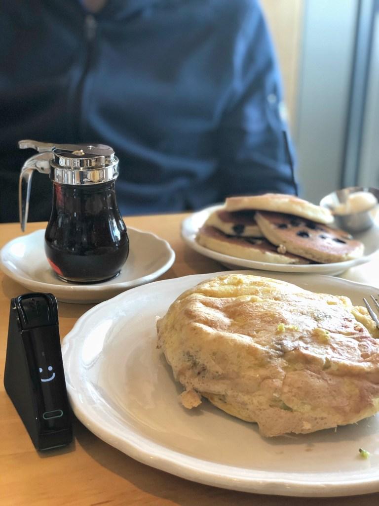 The Original Pancake House omelet with Nima Sensor test