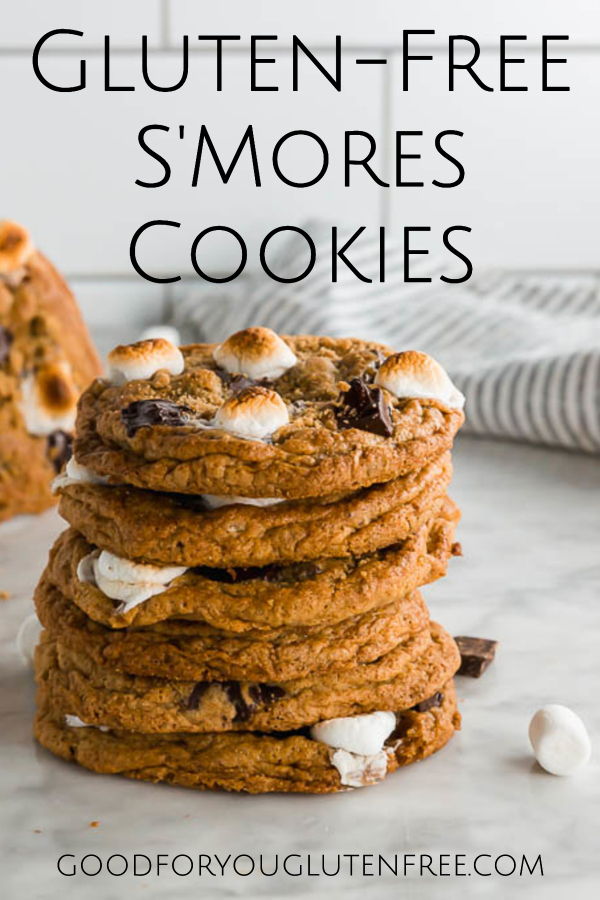 Gluten-Free S'mores Cookies Recipe - Good For You Gluten Free