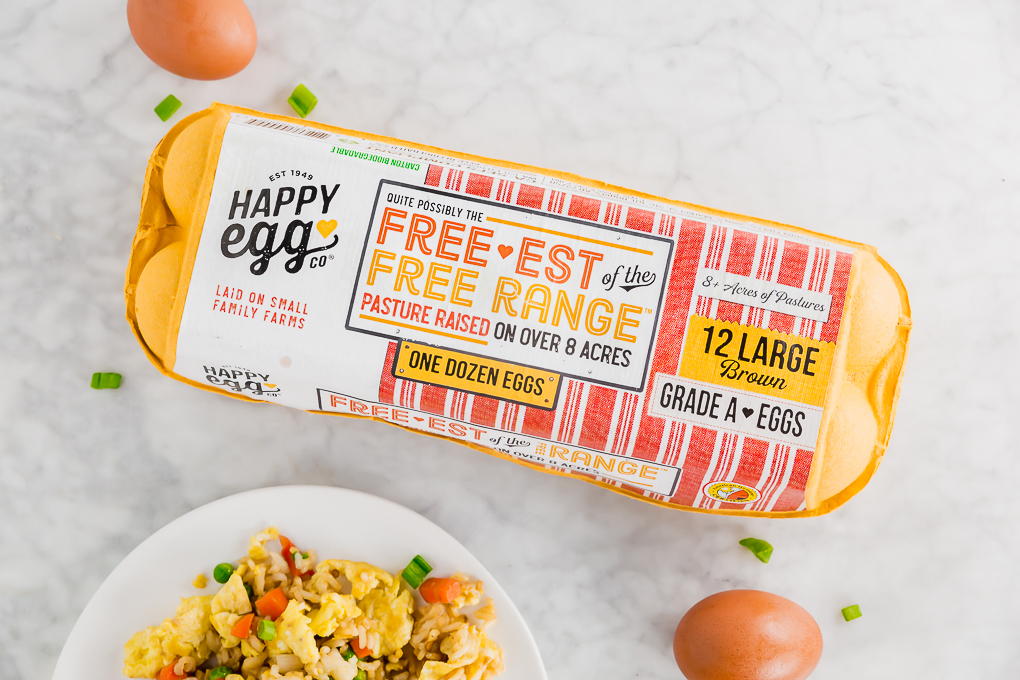 picture of happy eggs co carton