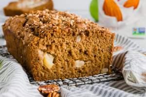 Gluten-Free Apple Cinnamon Bread header