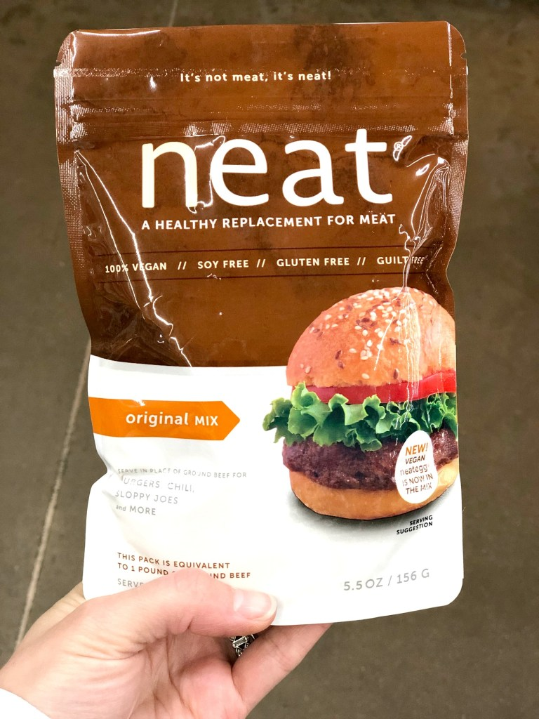 Neat meat replacement is gluten free