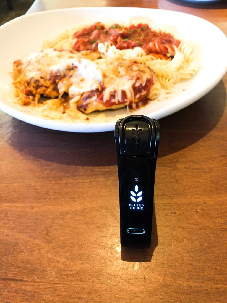 Olive Garden tested positive for gluten found in its gluten-free grilled chicken parmesan