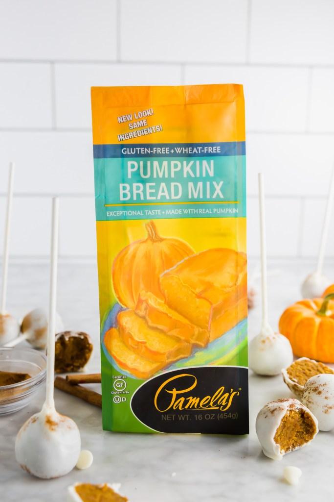 Picture of Pamela's Gluten-Free Pumpkin Bread Mix