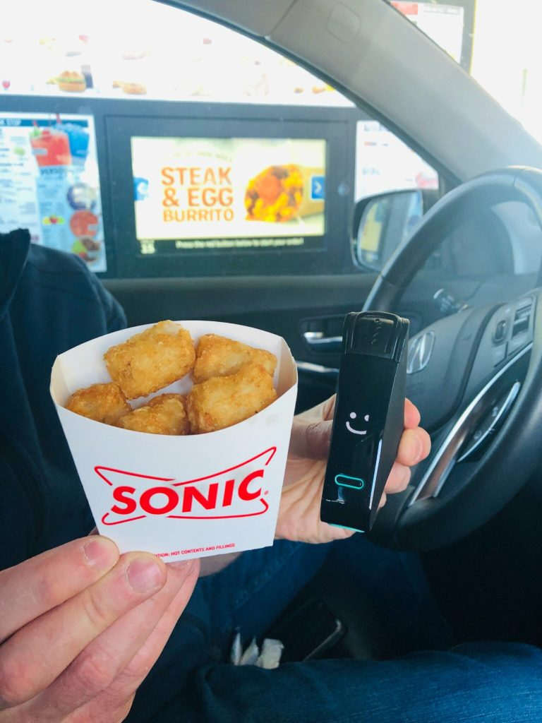 Nima Sensor Test of Sonic Tater Tots - checking for hidden gluten