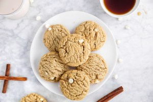 Gluten-Free Maple White Chocolate Cookies header