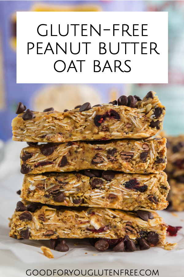 Gluten-Free Peanut Butter Oat Bars - Good For You Gluten Free