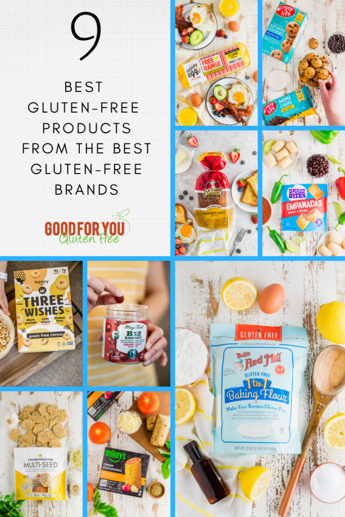 9 Best Gluten-Free Products - Celiac Disease Awareness Month Celebration